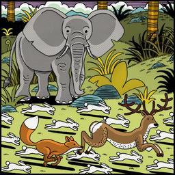 Le lapin timide 11. Source : http://data.abuledu.org/URI/5231e70c-le-lapin-timide-11