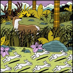 Le lapin timide 9. Source : http://data.abuledu.org/URI/5231e5a0-le-lapin-timide-9