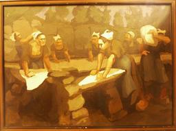 Le lavoir de Commana dans le Finistère. Source : http://data.abuledu.org/URI/54ba9a7e-le-lavoir-de-commana-dans-le-finistere