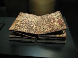 Le livre des sorciers Batak à Sumatra. Source : http://data.abuledu.org/URI/530cc2ee-le-livre-des-sorciers-batak-a-sumatra