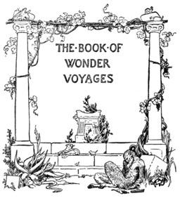 Le livre des voyages merveilleux - couverture. Source : http://data.abuledu.org/URI/53edf104-le-livre-des-voyages-merveilleux-couverture