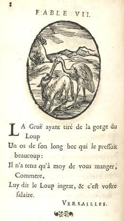 Le loup et la grue. Source : http://data.abuledu.org/URI/59162801-le-loup-et-la-grue