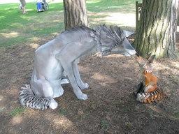 Le loup et le renard. Source : http://data.abuledu.org/URI/52dc4e04-le-loup-et-le-renard