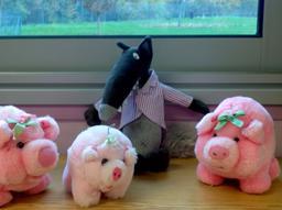 Le loup et les trois petits cochons. Source : http://data.abuledu.org/URI/546d966e-le-loup-et-les-trois-petits-cochons