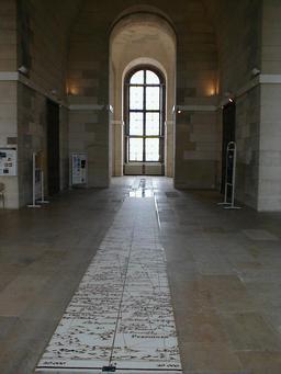Le méridien de Paris. Source : http://data.abuledu.org/URI/50885d30-le-meridien-de-paris