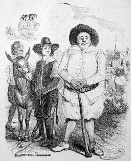 Le meunier, son fils et l'âne. Source : http://data.abuledu.org/URI/51f99211-le-meunier-son-fils-et-l-ane