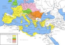 Le monde romain après la conquête de la Gaule. Source : http://data.abuledu.org/URI/50910226-le-monde-romain-apres-la-conquete-de-la-gaule