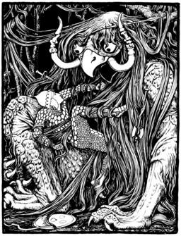 Le monstre aux cheveux emmêlés. Source : http://data.abuledu.org/URI/519654c8-le-monstre-aux-cheveux-emmeles