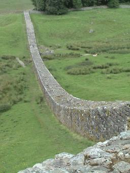 Le mur d'Hadrien. Source : http://data.abuledu.org/URI/56c59ee9-le-mur-d-hadrien