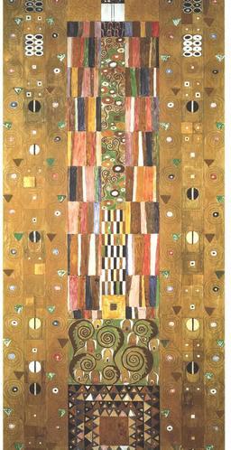 Le mur du palais Stoclet de Klimt. Source : http://data.abuledu.org/URI/53e7f26e-le-mur-du-palais-stoclet-de-klimt