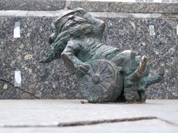 Le nain en fauteuil roulant. Source : http://data.abuledu.org/URI/51e90926-le-nain-en-fauteuil-roulant