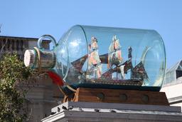 Le navire de Nelson en bouteille. Source : http://data.abuledu.org/URI/51dc039e-le-navire-de-nelson-en-bouteille
