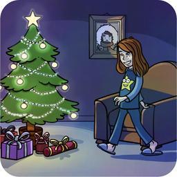 Le Noël de Chloé 02. Source : http://data.abuledu.org/URI/516ba30c-le-noel-de-chloe-02