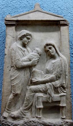 Le nouveau-né et sa nourrice. Source : http://data.abuledu.org/URI/50635384-le-nouveau-ne-et-sa-nourrice