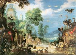Le paradis des oiseaux en 1628. Source : http://data.abuledu.org/URI/573adb96-le-paradis-des-oiseaux-en-1628