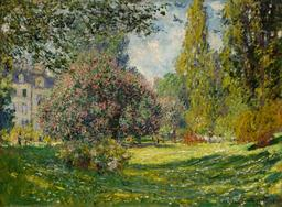 Le Parc Monceau en 1876. Source : http://data.abuledu.org/URI/596bf59e-le-parc-monceau-en-1876