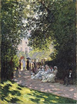 Le Parc Monceau en 1878. Source : http://data.abuledu.org/URI/596bf624-le-parc-monceau-en-1878