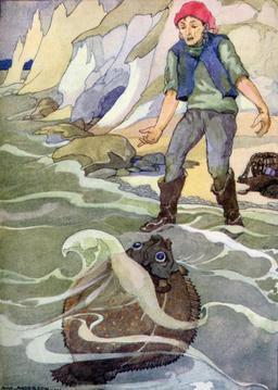 Le pêcheur et sa femme. Source : http://data.abuledu.org/URI/5112510d-le-pecheur-et-sa-femme