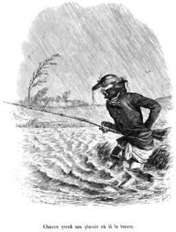 Le pêcheur sous la pluie. Source : http://data.abuledu.org/URI/534f850a-le-pecheur-sous-la-pluie