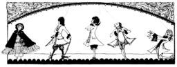 Le petit chaperon rouge. Source : http://data.abuledu.org/URI/5081a123-le-petit-chaperon-rouge