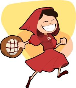 Le petit chaperon rouge. Source : http://data.abuledu.org/URI/54068043-le-petit-chaperon-rouge