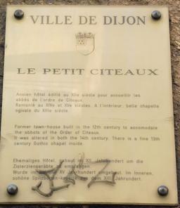 Le Petit Citeaux à Dijon. Source : http://data.abuledu.org/URI/5926988e-le-petit-citeaux-a-dijon