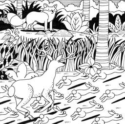 Le petit lapin timide et pas malin, 10. Source : http://data.abuledu.org/URI/52782068-le-petit-lapin-timide-et-pas-malin-10