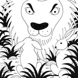 Le petit lapin timide et pas malin, 20. Source : http://data.abuledu.org/URI/5278285a-le-petit-lapin-timide-et-pas-malin-20
