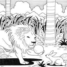 Le petit lapin timide et pas malin, 25. Source : http://data.abuledu.org/URI/52782c54-le-petit-lapin-timide-et-pas-malin-25