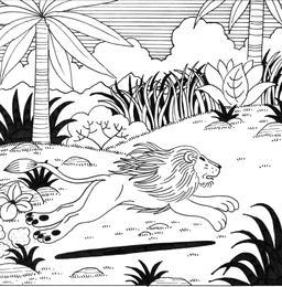 Le petit lapin timide et pas malin, 26. Source : http://data.abuledu.org/URI/52782e88-le-petit-lapin-timide-et-pas-malin-26