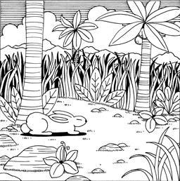Le petit lapin timide et pas malin - 1. Source : http://data.abuledu.org/URI/52781970-le-petit-lapin-timide-et-pas-malin