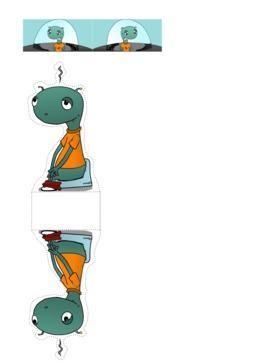 Le Petit Vénusien et sa soucoupe en papertoy. Source : http://data.abuledu.org/URI/58d7c95a-le-petit-venusien-et-sa-soucoupe-en-papertoy