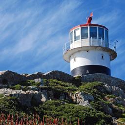 Le phare de Cape Point. Source : http://data.abuledu.org/URI/54ec9f98-le-phare-de-cape-point
