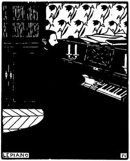 Le piano en 1896. Source : http://data.abuledu.org/URI/55193029-le-piano-en-1896