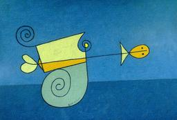 Le poisson rouge et l'escargot. Source : http://data.abuledu.org/URI/5234f736-le-poisson-rouge-et-l-escargot