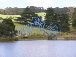 Le pont bleu. Source : http://data.abuledu.org/URI/5468df94-le-pont-bleu