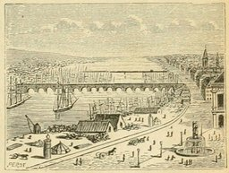 Le pont de Bordeaux en 1877. Source : http://data.abuledu.org/URI/524dd48a-le-pont-de-bordeaux-en-1877