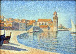 Le port de Collioure. Source : http://data.abuledu.org/URI/51b8dc2a-le-port-de-collioure