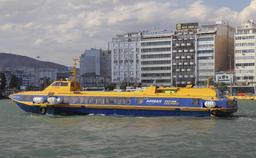 Le port du Pirée à Athènes. Source : http://data.abuledu.org/URI/5416075e-le-port-du-piree-a-athenes