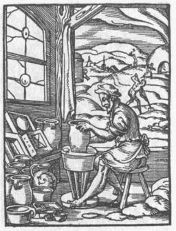 Le potier. Source : http://data.abuledu.org/URI/47f55c92-le-potier