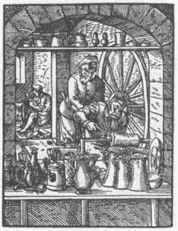Le potier d'étain. Source : http://data.abuledu.org/URI/47f581a1-le-potier-d-etain