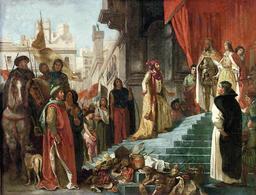 Le premier retour de Christophe Colomb. Source : http://data.abuledu.org/URI/573b8ad0-le-premier-retour-de-christophe-colomb