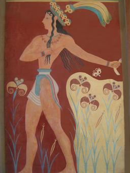 Le prince aux lys de Knossos. Source : http://data.abuledu.org/URI/5360f122-le-prince-aux-lys-de-knossos