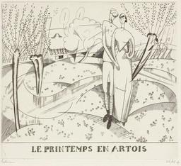 Le printemps en Artois en 1916. Source : http://data.abuledu.org/URI/55584f99-le-printemps-en-artois-en-1916