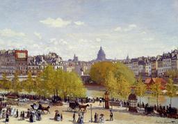 Le quai du Louvre en 1867. Source : http://data.abuledu.org/URI/596bf1ce-le-quai-du-louvre-en-1867