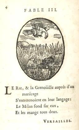 Le rat, la grenouille et le milan. Source : http://data.abuledu.org/URI/5916279e-le-rat-la-grenouille-et-le-milan