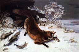 Le renard dans la neige. Source : http://data.abuledu.org/URI/47f4bd26-le-renard-dans-la-neige
