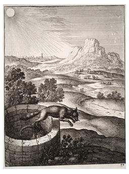 Le renard et la chèvre. Source : http://data.abuledu.org/URI/5194a89c-le-renard-et-la-chevre