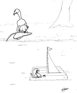 Le renard et la rainette. Source : http://data.abuledu.org/URI/536f5e4e-le-renard-et-la-rainette