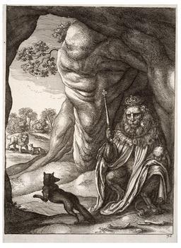 Le renard et le lion. Source : http://data.abuledu.org/URI/5193d04a-le-renard-et-le-lion